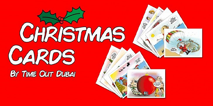 Time Out Dubai Christmas Cards