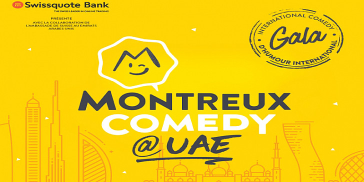 MONTREUX COMEDY @UAE  ( Show in English)