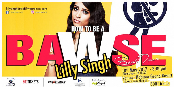 Lilly Singh Book Tour