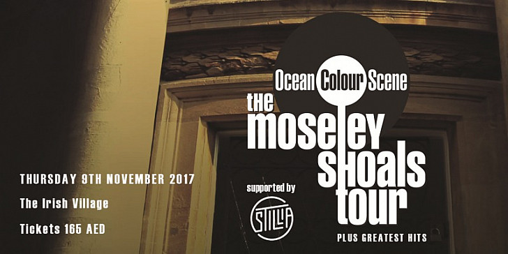 OCEAN COLOUR SCENE SUPPORTED BY STILLIA