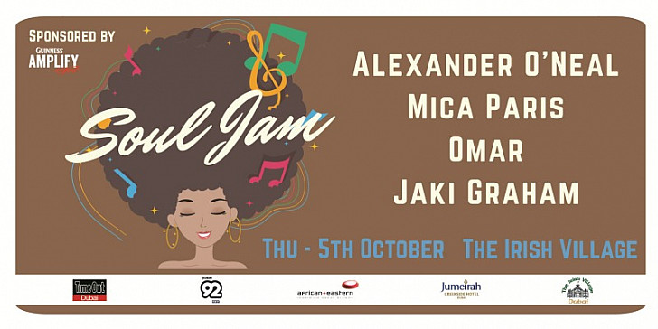 Soul Jam - Alexander O'Neal, Omar, Jaki Graham and Mica Paris