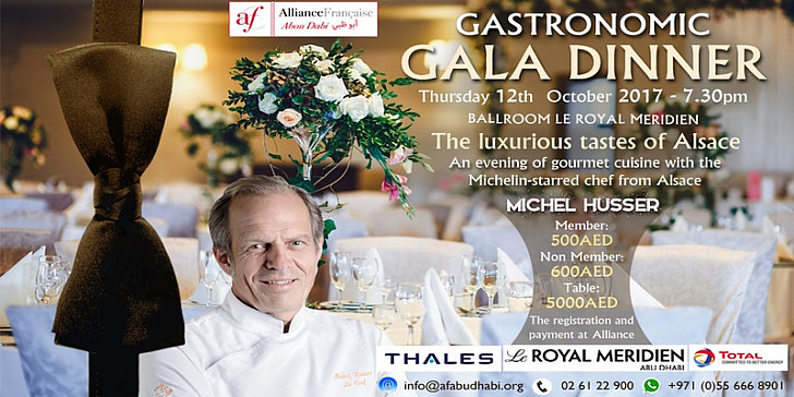 Gastronomic Gala Dinner