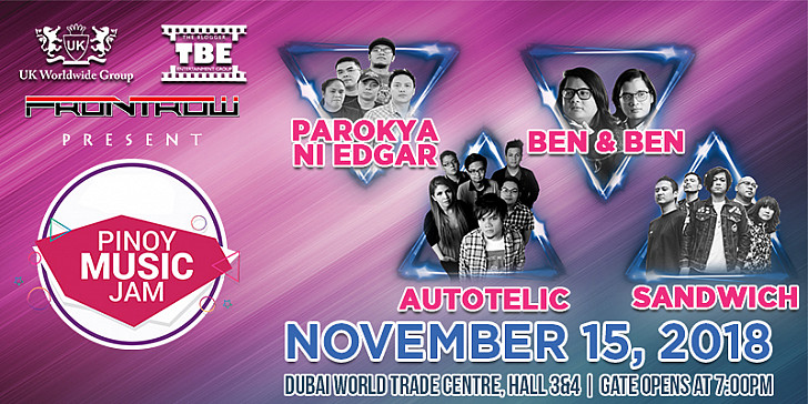 Pinoy Music Jam with Parokya Ni Edgar, Hale, Silent Sanctuary and more