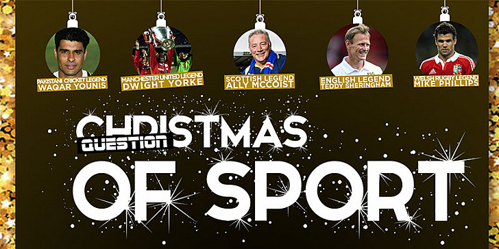CHRISTMAS QUESTION OF SPORT EVENING