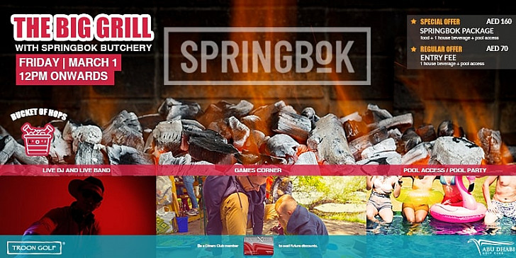 The Big Grill with Springbok Butchery