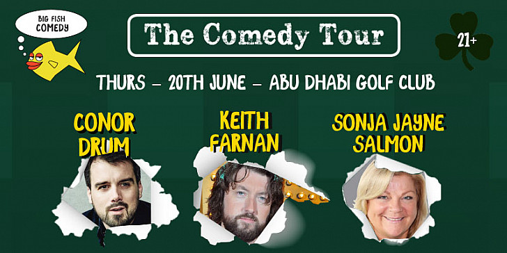 The Comedy Show at Abu Dhabi Golf Club