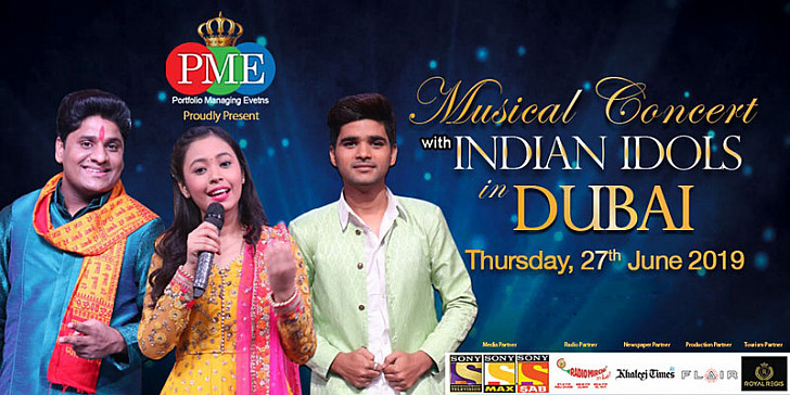 Musical Concert with INDIAN IDOLS in DUBAI