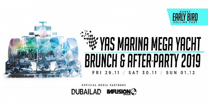 Yas Marina Mega Yacht Brunch and After Party