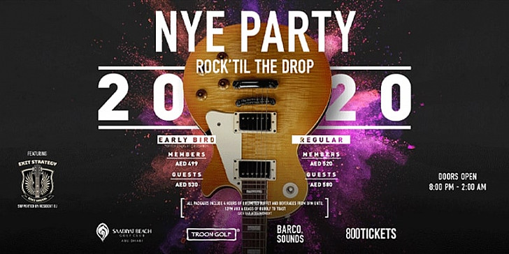 New Year's Eve Party  Rock' Till The Drop