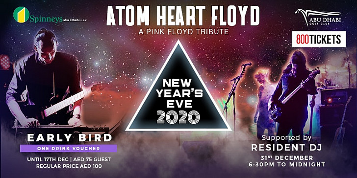 New Year's Eve Party with A Tribute to Pink Floyd by Atom Heart Floyd