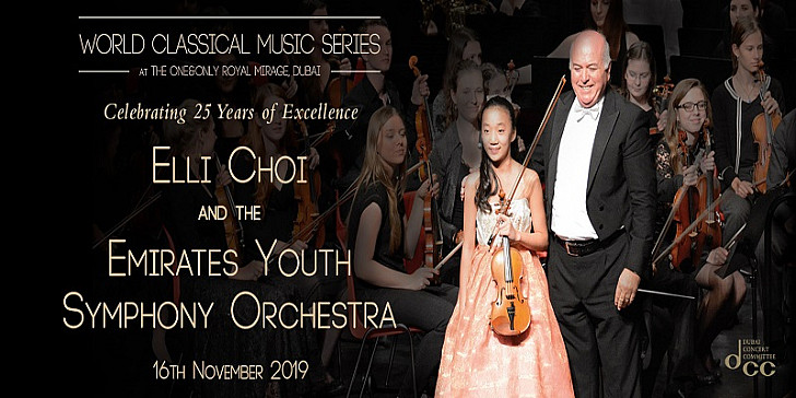 World Classical Music Series - ELLI CHOI and the EMIRATES YOUTH SYMPHONY ORCHESTRA