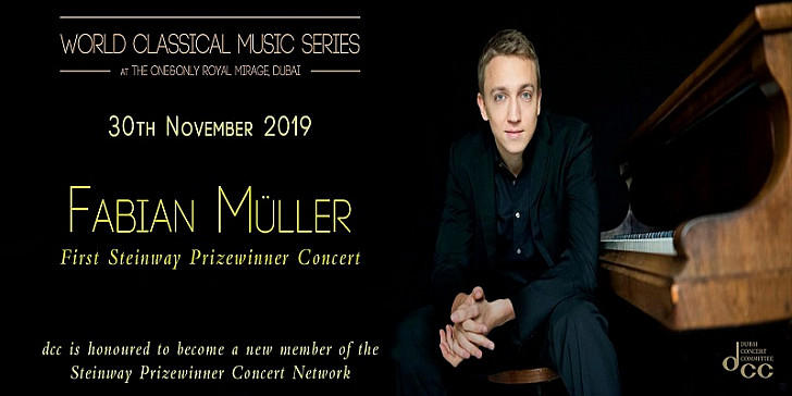 World Classical Music Series presents Fabian Muller