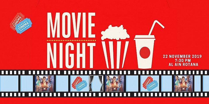 Movie night under the stars at Al Ain Rotana