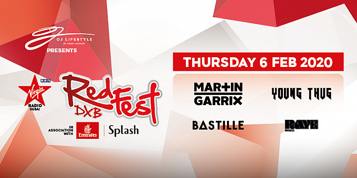 VIRGIN RADIO REDFESTDXB 2020 Day 1: Raye | Bastille | Young Thug | Martin Garrix