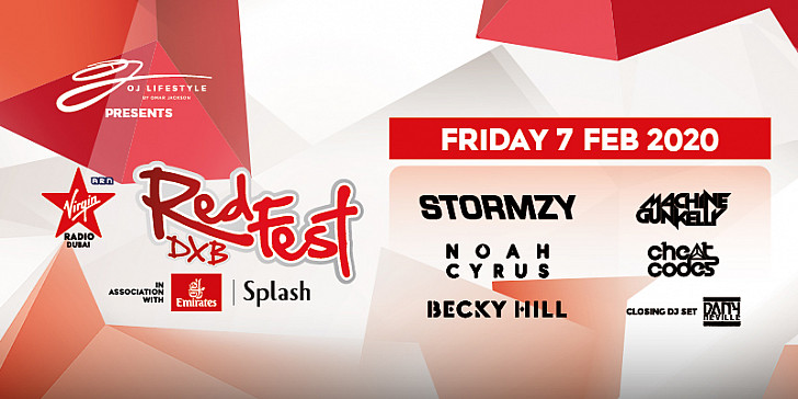 VIRGIN RADIO REDFESTDXB 2020 Day 2: Becky Hill | Cheat Codes | Noah Cyrus | Machine Gun Kelly | Stormzy | Closing DJ Set with Dany Neville