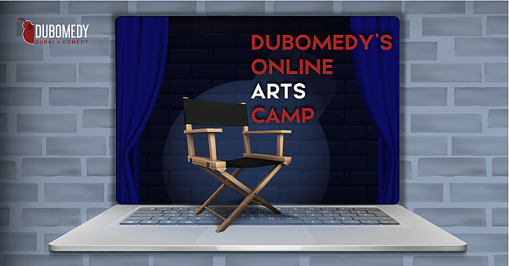 Dubomedy's Online Arts Camp – Week 1 (Ages 8-14)
