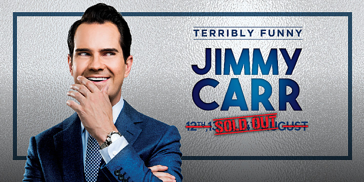 DXBLaughs: Jimmy Carr - Terribly Funny In Dubai