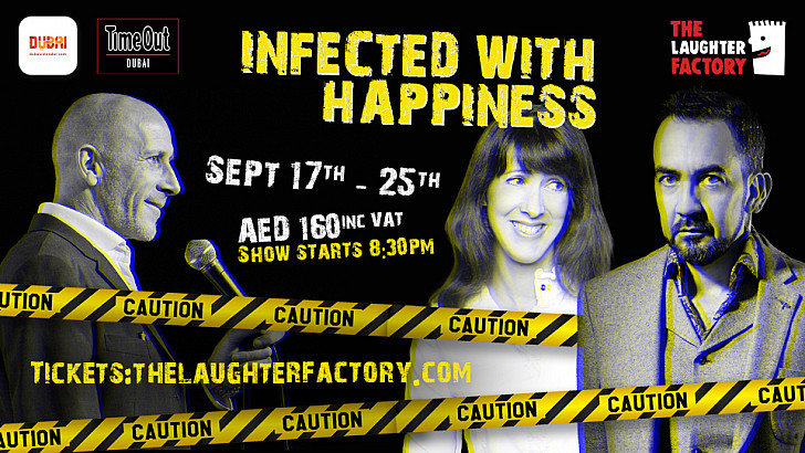 The Laughter Factory's 'Infected with Happiness' tour