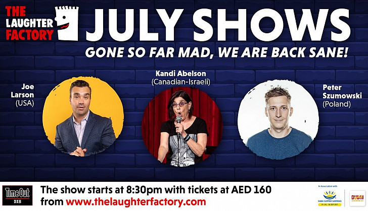 The Laughter Factory's 'Gone So Far Mad, We Are Back Sane' tour