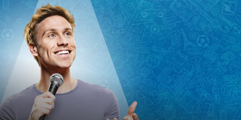 Knock Knock…it's Russell Howard Round the World Tour in Dubai