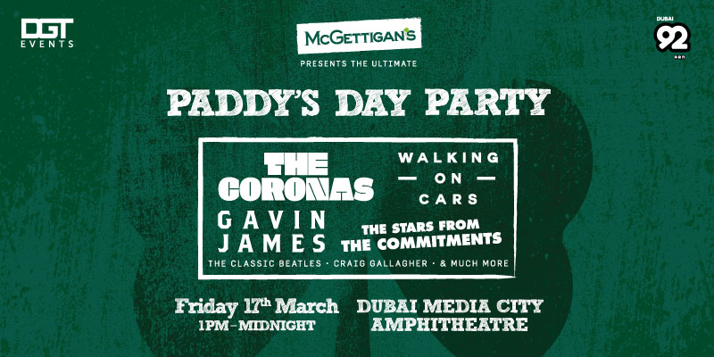 McGettigan's presents The Ultimate Paddy's Day Party