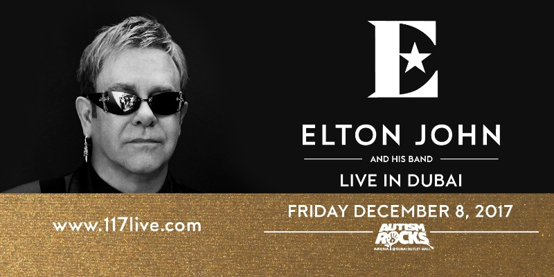 Elton John and his Band Live in Dubai - Wonderful Crazy Night Tour