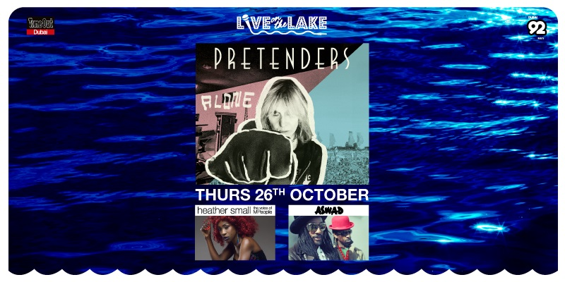 Live on the Lake presents The Pretenders, Heather Small and Aswad