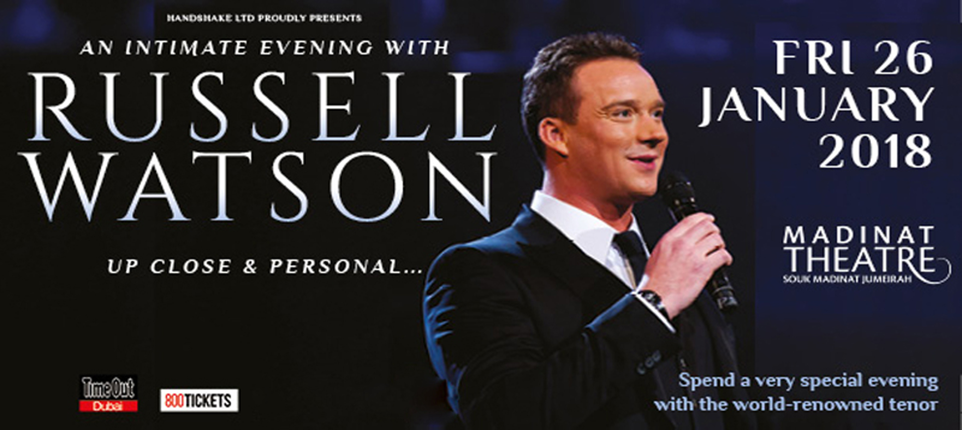 Russell Watson: Up Close and Personal