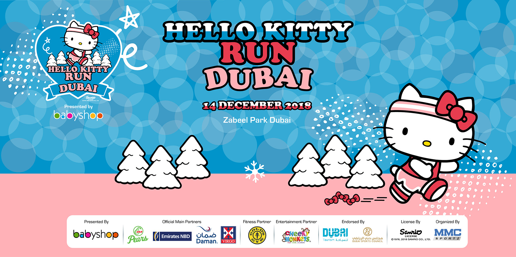 Hello Kitty Run Dubai 2018