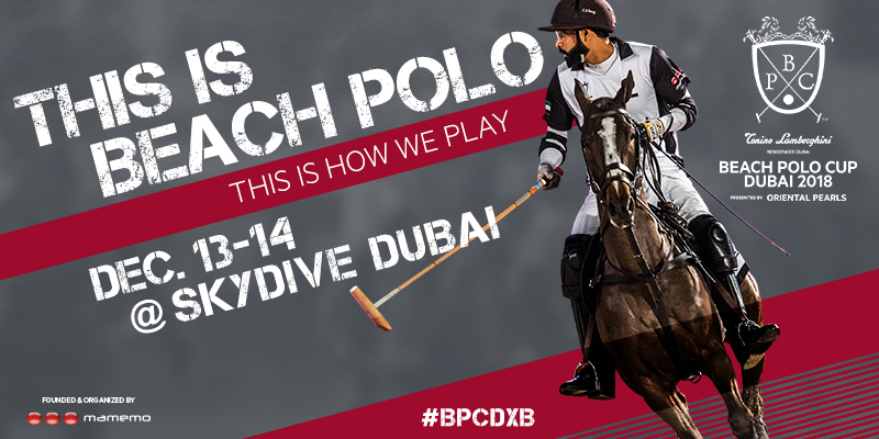 Beach Polo Cup Dubai 2018