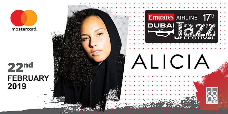 DUBAI JAZZ FESTIVAL 2019 - ALICIA KEYS