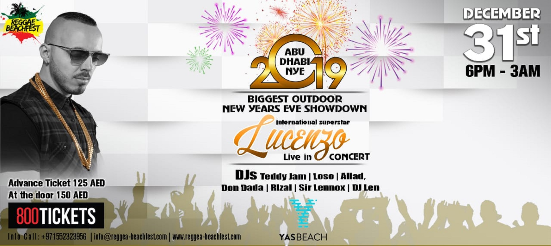 New Years Eve Showdown Feat LUCENZO Live!