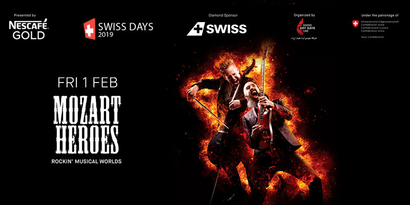 SWISS DAYS - The MOZART HEROES