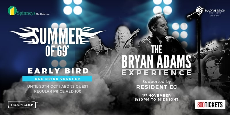 THE BRYAN ADAMS EXPERIENCE - THE ULTIMATE NIGHT OF ROCK N' ROLL
