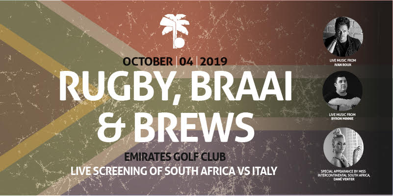 RUGBY, Braai AND BREWS
