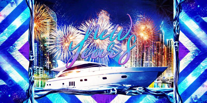 Celebrate 2019/2020 New Year's Eve on a Luxury Yacht