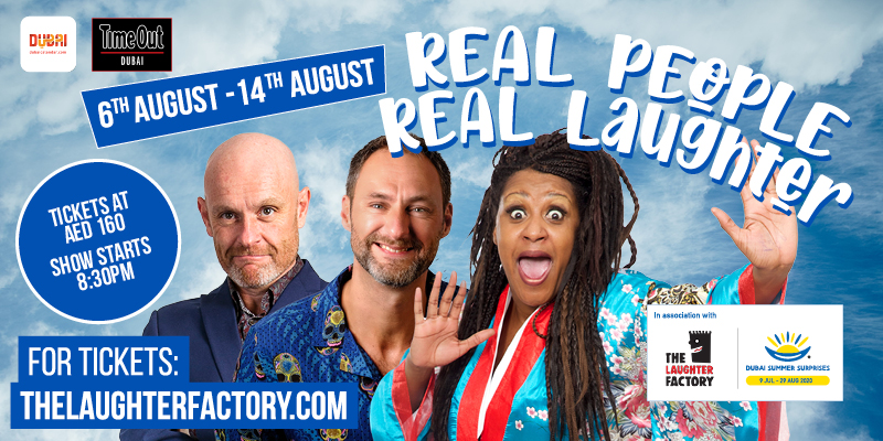The Laughter Factory's - Real People, Real Laughter!